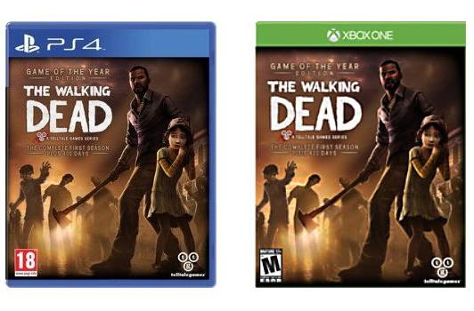 The Walking Dead PS4, Xbox One listings just won't die