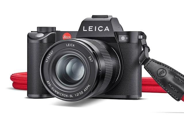 Leica's full-frame SL2 mirrorless camera has 5K video and higher resolution