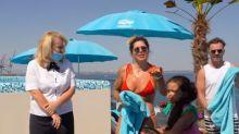 "Dani Souza é expulsa de piscina em hotel de luxo na Ucrânia: ""Perrengue chique"""