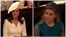 Royals caught giggling on camera during pastor's passionate speech