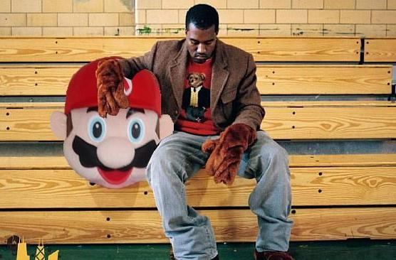 Kanye West once tried to sex up Mario