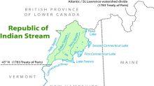 Cuando el territorio de Indian Stream se autoproclamó, en 1832, república independiente dentro de Norteamérica