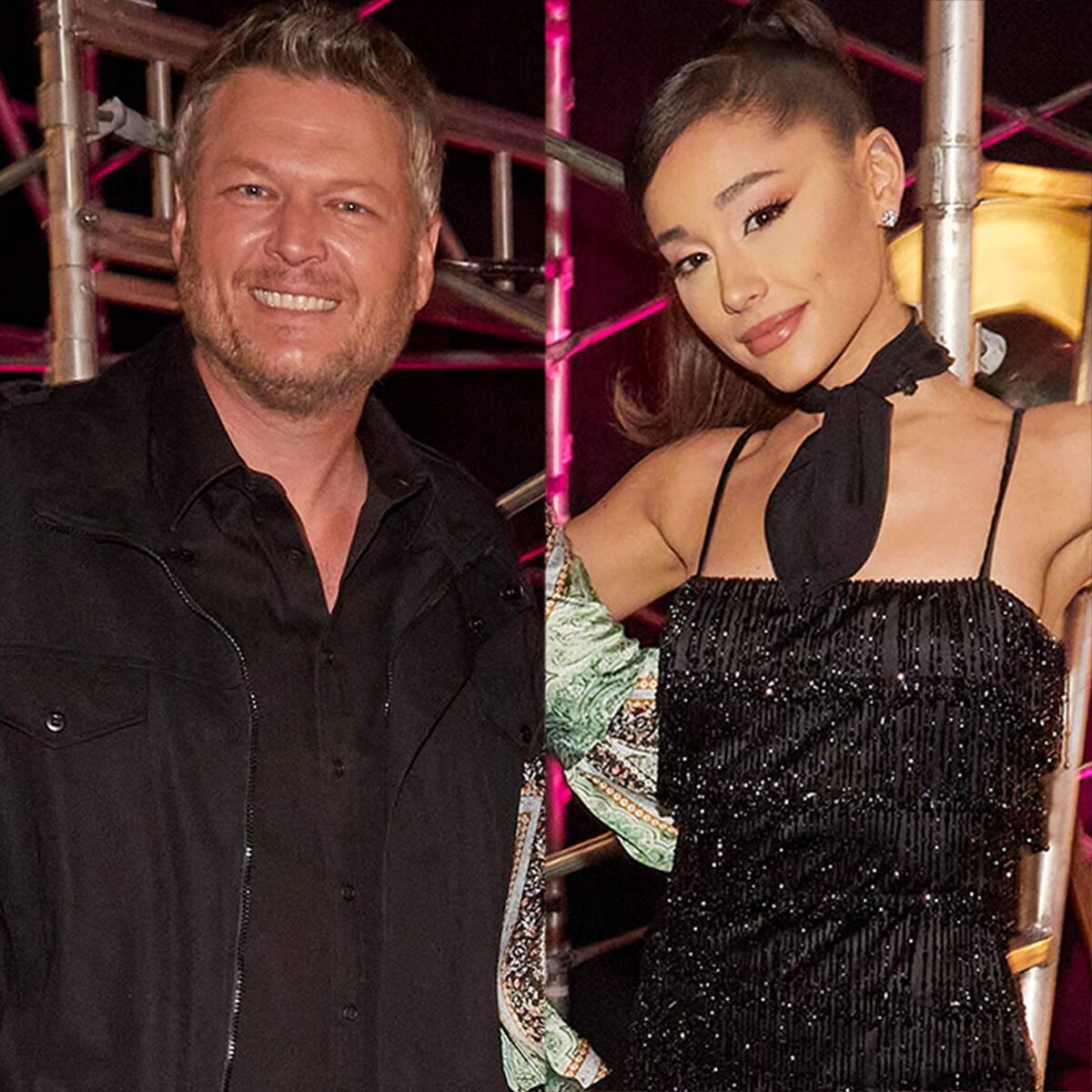 See Blake Shelton's Text to Ariana Grande After Report Claimed She's Kicking Him Off The Voice - Yahoo Entertainment