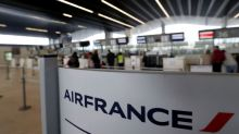 Air France says 25 percent of flights will be cancelled on Monday