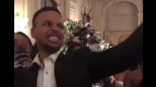 Steph Curry did the LeBron Challenge next to Kyrie Irving and people are losing it