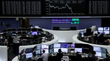 European shares dip as UK trading updates disappoint