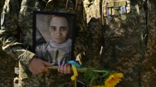 Ukraine soldiers hold unofficial march after Kiev cancels event
