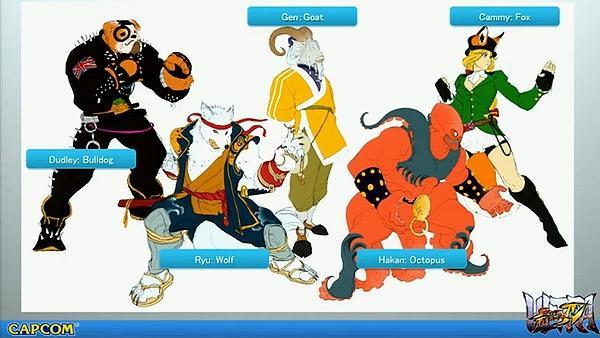 Fists of furry will fly with Ultra Street Fighter 4's costume pack