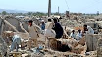 Pakistan Quake Flattens Villages, Creates Island