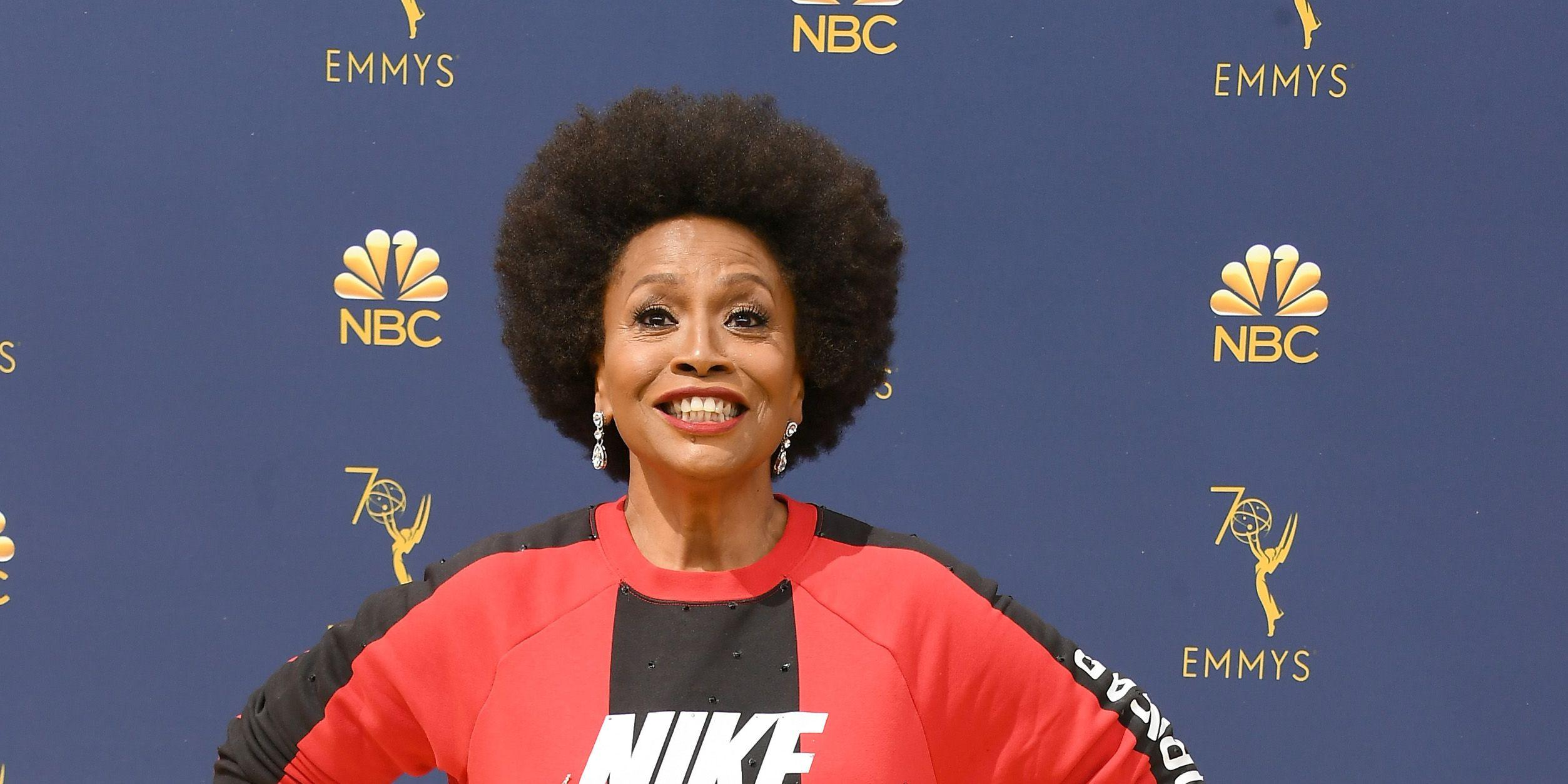 c5e4311ed4ec0 Jennifer Lewis Wears Nike at the 2018 Emmys to Show Her Support For Colin  Kaepernick