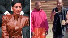 Kanye West and Kim Kardashian 'living totally separate lives'