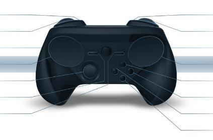 Updated Steam Controller adds an analog stick