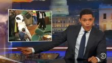 'The Daily Show' breaks down crazy Ugandan parliament brawl