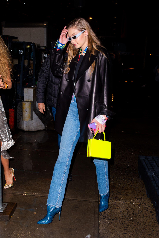 Blake Lively、Gigi Hadid出席Versace早秋發表會