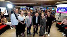 TVB stars Kenneth Ma, Mandy Wong, Lai Lok-Yi and Rebecca Zhu celebrate Singtel's TVB channels launch