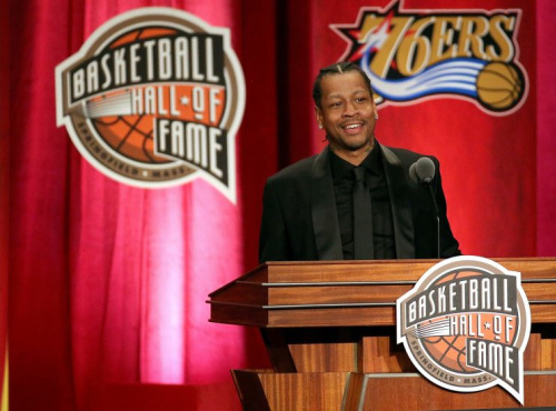 Allen Iverson is scheduled to appear Wednesday at a news conference in New York for the BIG3. (Getty Images)