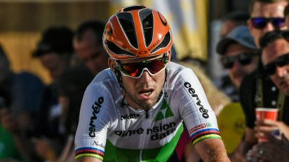 Cavendish's classy act in Tour disqualification