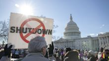As longest-ever shutdown drags on, federal worker protest grows
