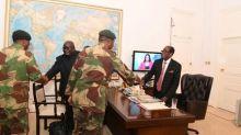 Zimbabwe's Mugabe has drafted resignation letter, CNN says