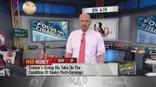 Cramer disagrees with Wall Street's 'downbeat' bank outlo...