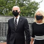 Joe Biden wears mask in 1st public appearance since March