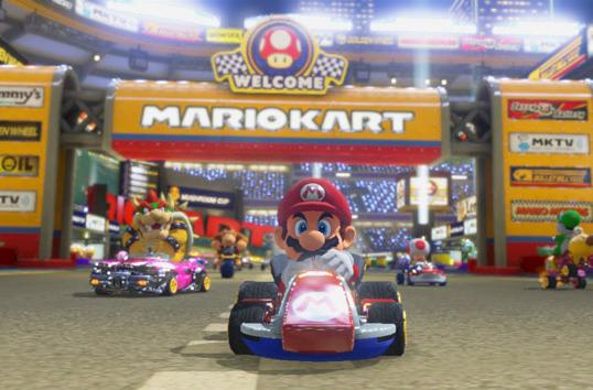 'Mario Kart 8' is about to get absurdly fast