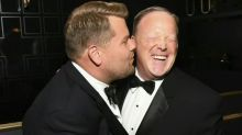 James Corden responds to Twitter backlash over Sean Spicer kiss at the Emmys