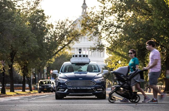 Ford is the first company to test self-driving cars in Washington, DC