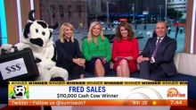 The Cash Cow gives away $110,000