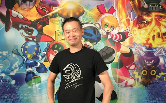 Two questions with legendary 'Mega Man' creator Keiji Inafune