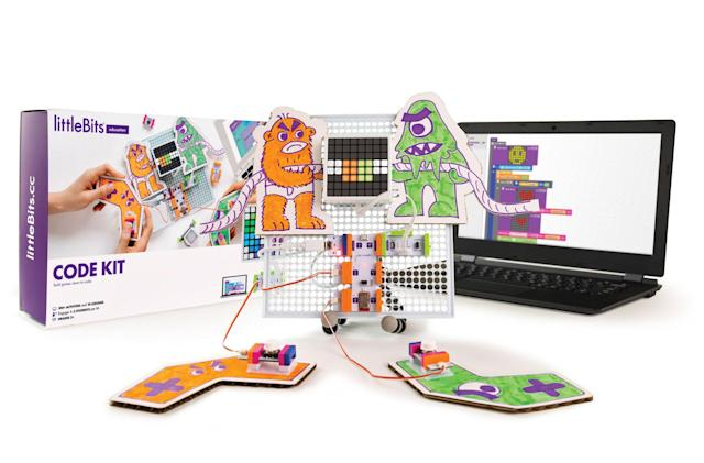 littleBits' latest kit is ready to teach kids coding skills