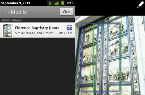 Google Goggles Android update makes your vacation photos slightly more interesting
