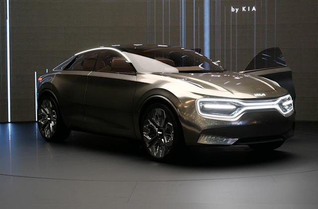 Kia's future EVs will sport extra-fast 800V charging