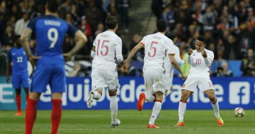 Foot - Amical - L'Espagne domine la France avec un grand rôle pour la vidéo