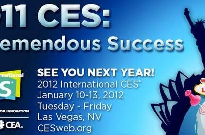 CES 2011 sees big boost in attendance, CES 2012 scheduled way more sensibly