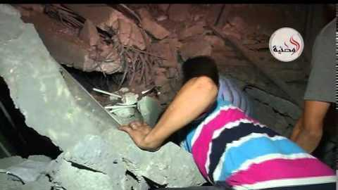 Rescuers Search Rubble for Survivors of Gaza Strikes