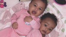 Kim Kardashian is accused of airbrushing her daughter Chicago West's photo
