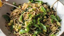 Avocado and Lemon Zest Spaghetti from 'A Modern Way To Eat'
