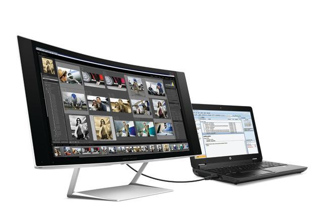HP intros a slew of monitors, including curved, 5K and 3D models