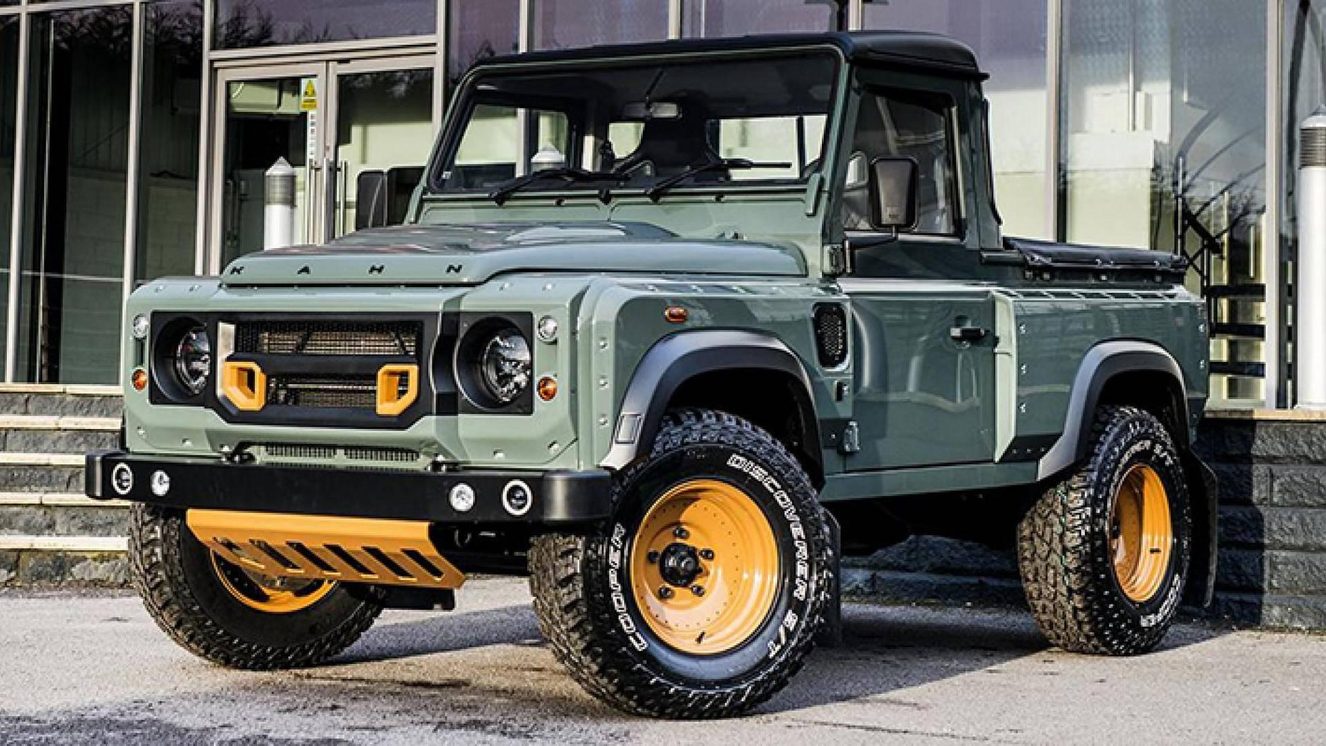 Land Rover Defender Pickup Single Cab Rumored For 2020 Launch Challenge
