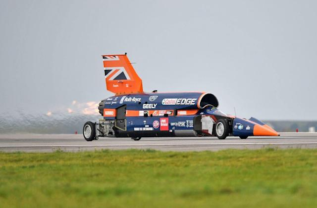 The Bloodhound supersonic car project is back in action
