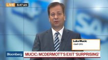 SAP CFO Mucic on Management Change, Strategy