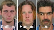 3 arrested for cemetery thefts in Bucks, Montgomery counties