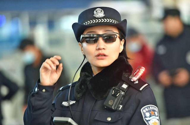China's law enforcement expands use of facial recognition glasses