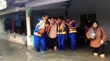 3 elderly women of a family evacuated when flood hit their home