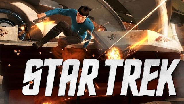 Star Trek Interview and Gameplay Demo! Spock & Kirk Co-Op Action from E3 2012! - Rev3Games Originals