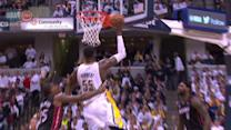 Hibbert Cleans Up