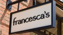 Francesca's News: What FRAN Stock Is Falling Hard Today