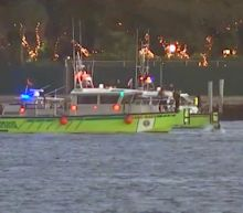 Two women dead after car plunges off ferry into waters off exclusive Miami island