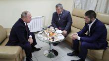 'Worthily and convincingly': Putin meets, congratulates Khabib